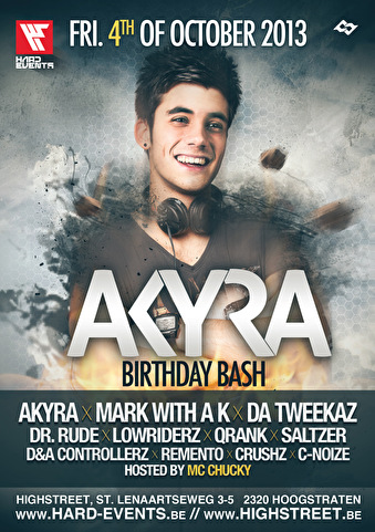 Akyra Birthday (flyer)