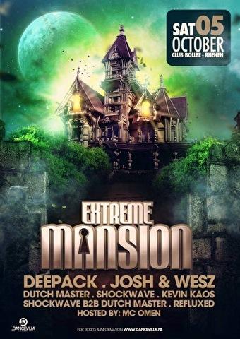 Extreme Mansion (flyer)