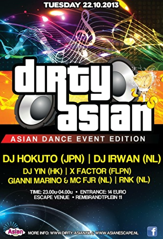 Dirty Asian (flyer)