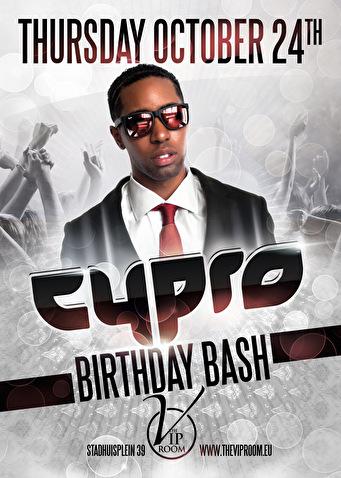 Cypro b-day bash (flyer)