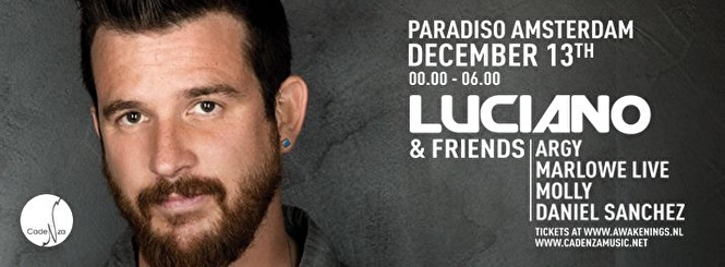 flyer Luciano & Friends