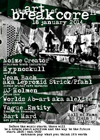 The Art Of Breakcore 2 (flyer)