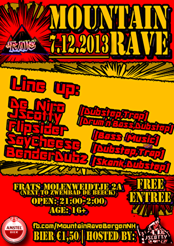 Mountain Rave! (flyer)