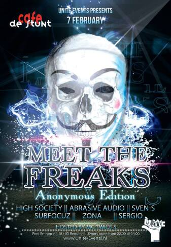 Meet The Freaks (flyer)