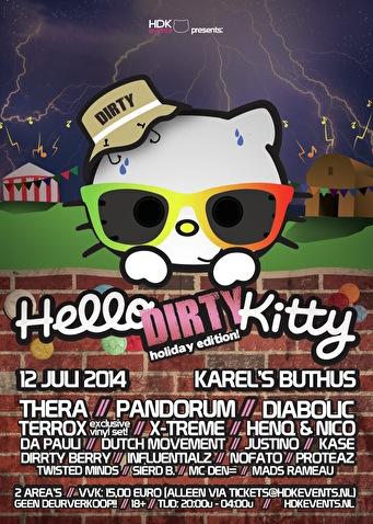 Hello Dirty Kitty (flyer)