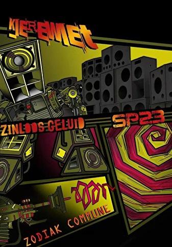 Kierewiet invites SP23, Zodiak Commune & Zinloos Geluid (flyer)
