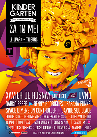 Kindergarten Festival (flyer)