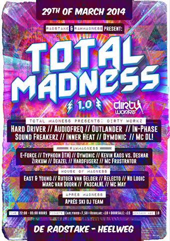 flyer Total Madness 1.0