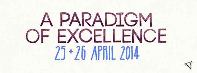 A Paradigm of Excellence (flyer)