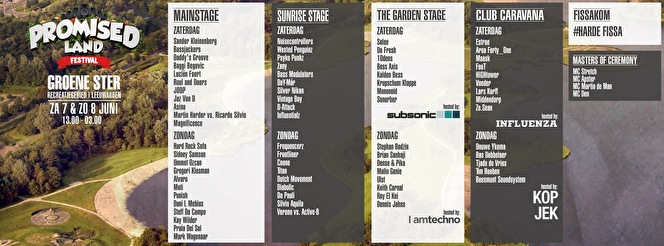 Promised Land Festival (flyer)