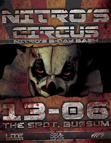 Nitro's circus (flyer)