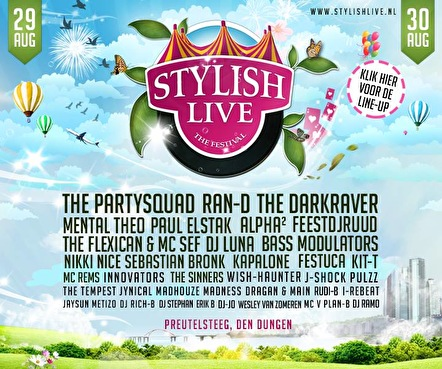 Stylish live (flyer)