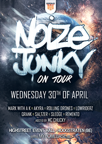 Noize Junky On Tour (flyer)