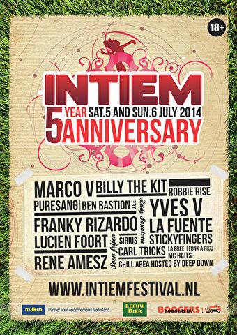 Intiem Outdoor Festival (flyer)