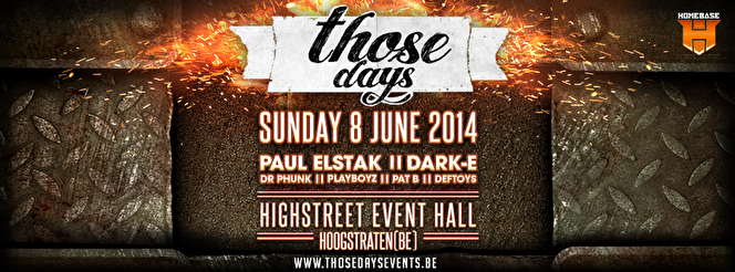 Those Days (flyer)