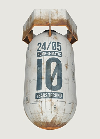 flyer 10 Years Bomb O Matic