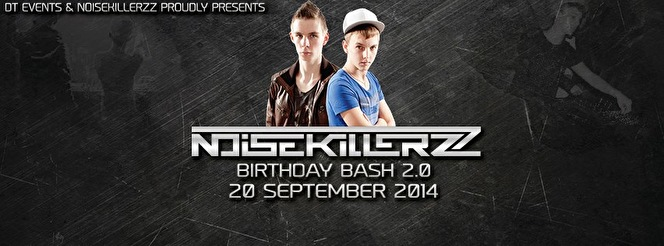 Noisekillerzz Birthday Bash 2.0 (flyer)