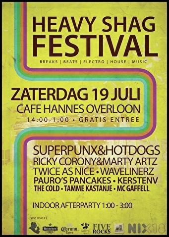 Heavy Shag Festival 2014 (flyer)