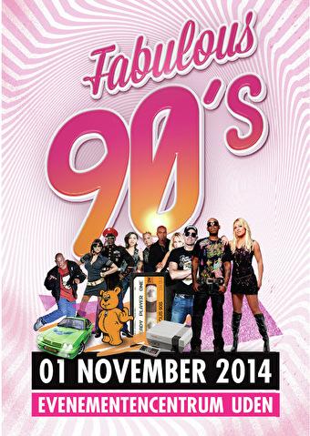 Fabulous 90's (flyer)