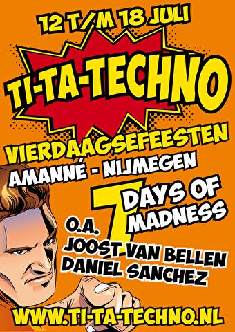 Ti-Ta-Techno 4-Daagsefeesten (flyer)