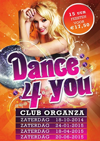 Dance4You incl. Morning Mission (flyer)