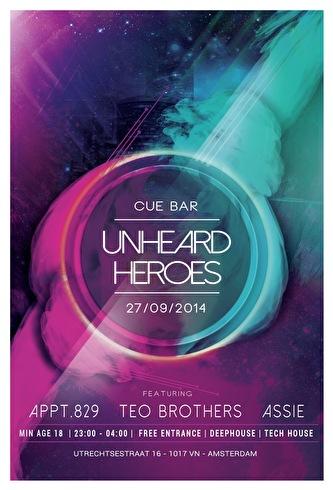 Unheard Heroes (flyer)