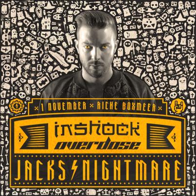Inshock Overdose (flyer)