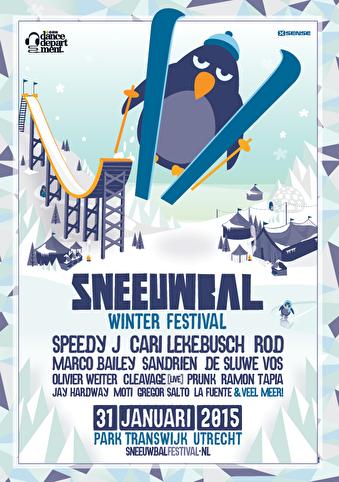 Sneeuwbal Winterfestival (flyer)