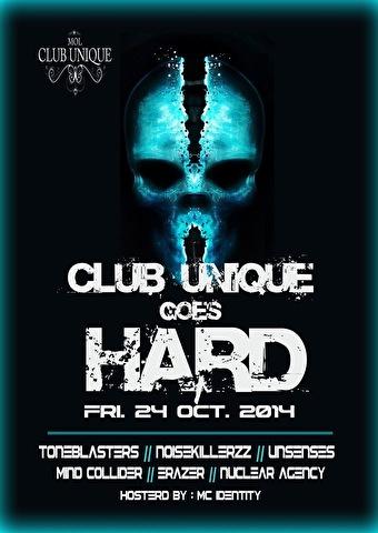 Club Unique Goes Hard (flyer)