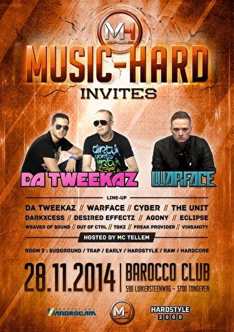 Music-Hard invites (flyer)
