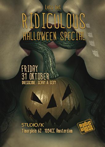 31 Oktober Halloween Amsterdam.Ridiculous Halloween Special 31 October 2014 Studio K