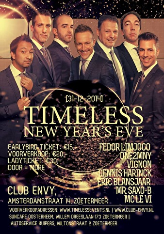 Timeless New Years Eve (flyer)