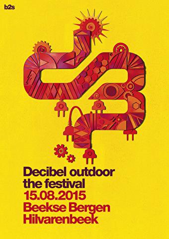 Decibel outdoor - the festival (flyer)