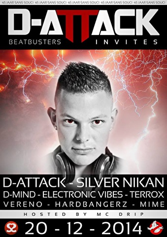 Beatbusters D-Attack Invites (flyer)