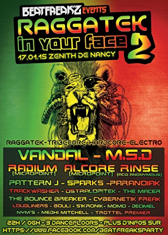 Raggatek In Your Face - Tickets, line-up & info