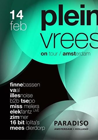 Pleinvrees on Tour (flyer)