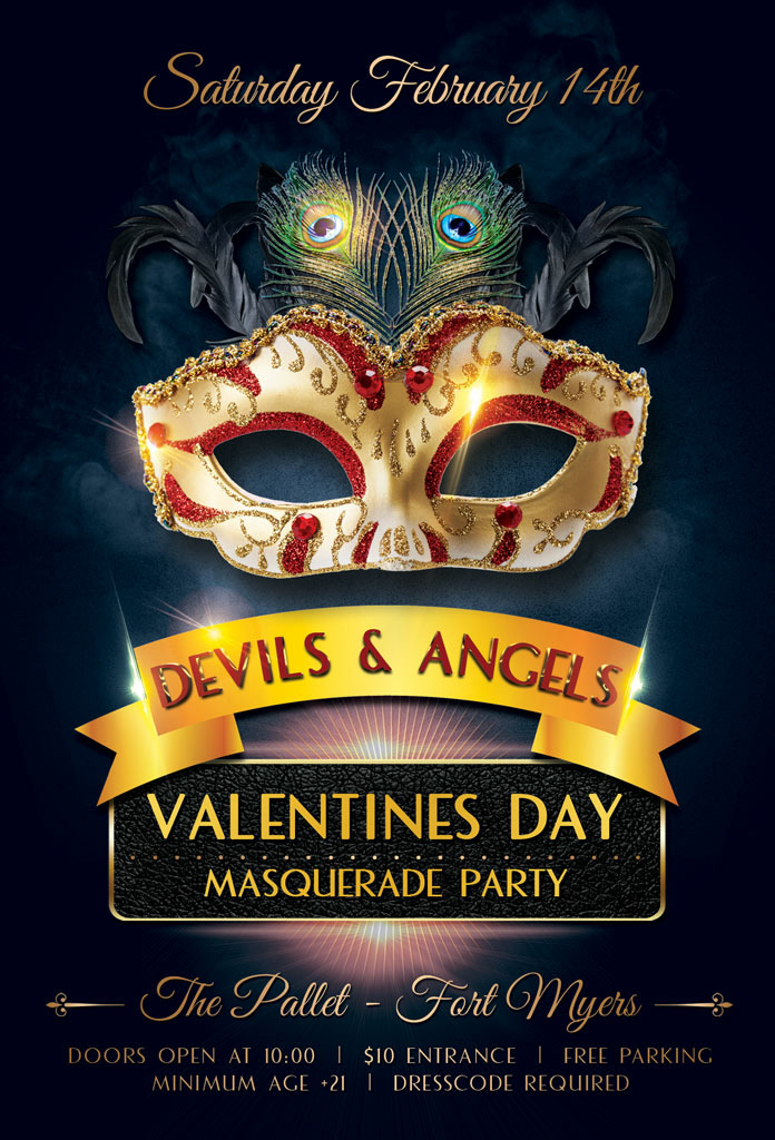 devils and angels masquerade party 14 february 2015 pallet