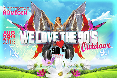 flyer We Love The 90's