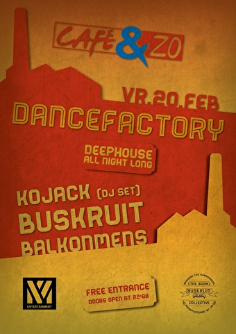 Dancefactory 2 (flyer)