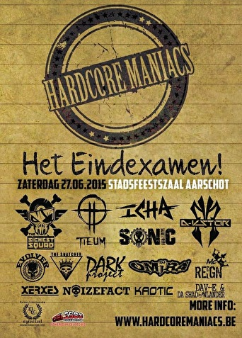 Hardcore Maniacs (flyer)