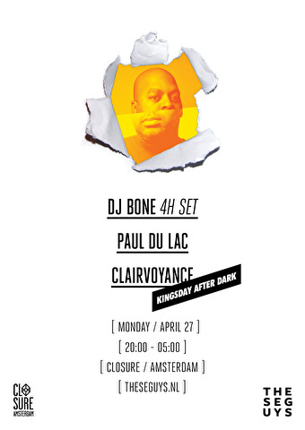 flyer These Guys Kingsday After Dark