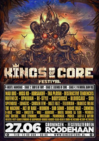 Kings Of Core Festival (flyer)