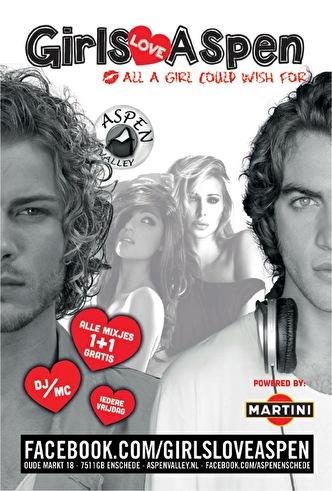 Girls love Aspen (flyer)