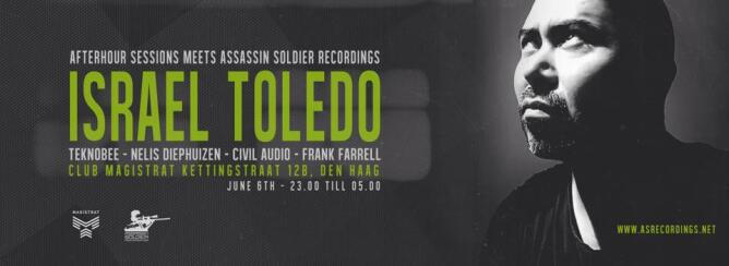 Afterhour Sessions meets Assassin Soldier Recordings (flyer)