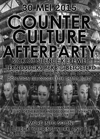 flyer Counter Culture Afterparty 2015
