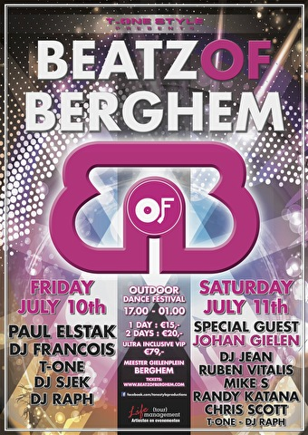 Beatz Of Berghem (flyer)