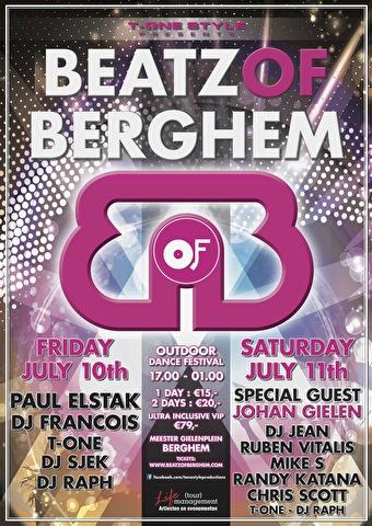 Beatz Of Berghem (flyer)