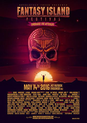 Fantasy Island Festival (flyer)