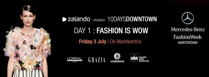 Official Opening Fashion Week Amsterdam 3 Juli 2015 De