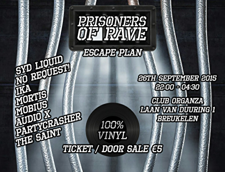Prisoners of Rave (flyer)